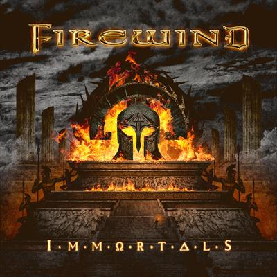 """FIREWIND LAUNCH """"BACK ON THE THRONE""""  SINGLE & LYRIC VIDEO; """"IMMORTALS"""""""