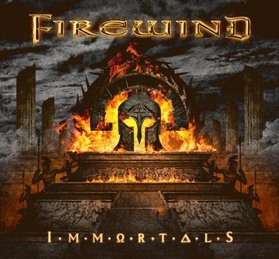 "FIREWIND LAUNCH ""BACK ON THE THRONE""  SINGLE & LYRIC VIDEO; ""IMMORTALS"""