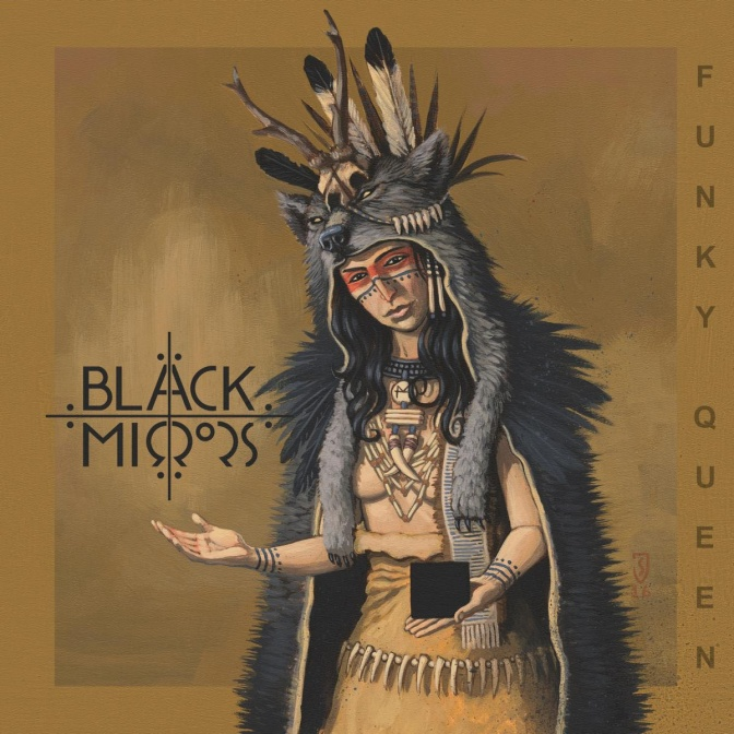 """BLACK MIRRORS Release Lyric Video! """"Funky Queen"""""""
