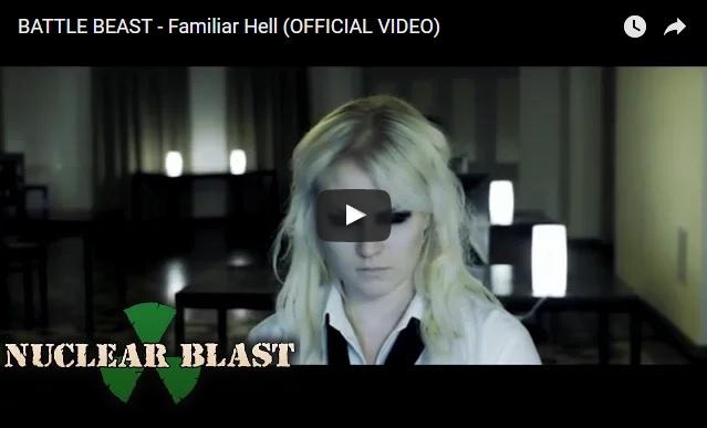 "BATTLE BEAST – New Video ""Familiar Hell"""