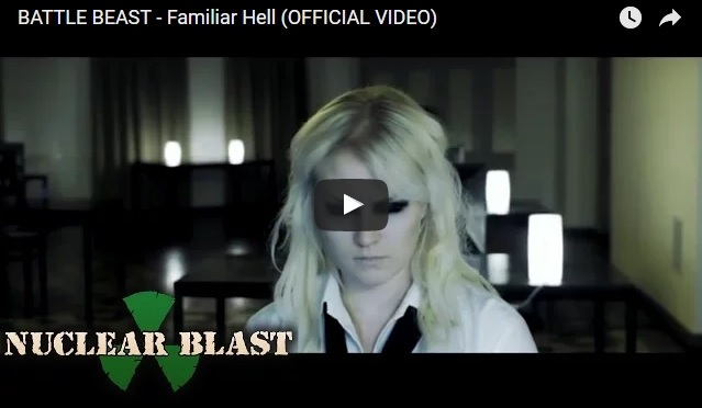 "BATTLE BEAST – New Video ""Familiar Hell"""