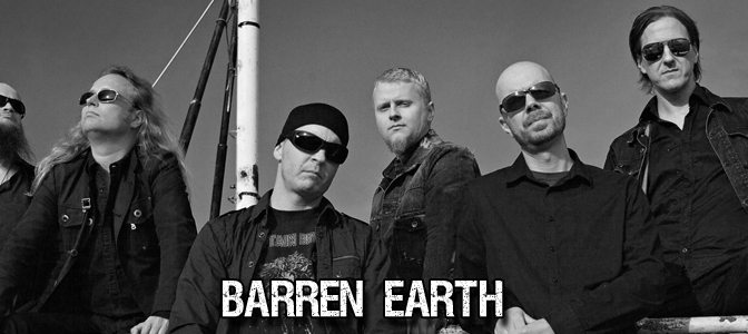 BARREN EARTH: GEARING UP TO HIT THE STUDIO AND TRACK A NEW ALBUM!