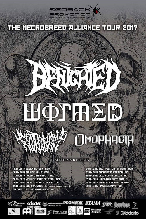 Benighted Kick Off their
