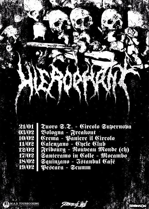 HierophantTour Dates Announced