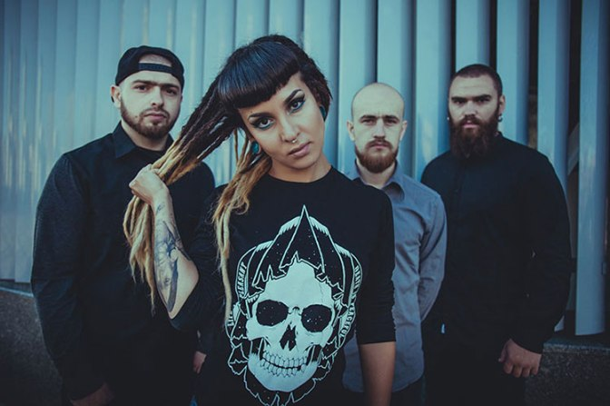JINJER – Premiere New Lyric Video & Tour Trailer For Upcoming Headlining Shows!