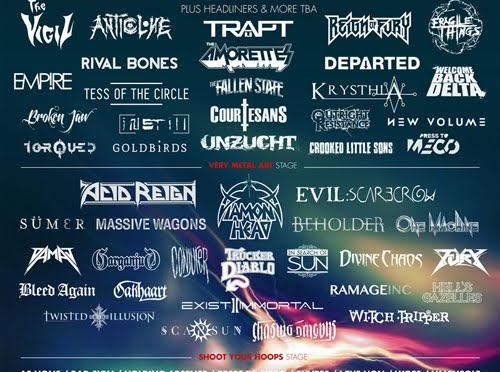 Amplified Open Air Festival launches: New bands added to line-up / Early bird tickets now on sale