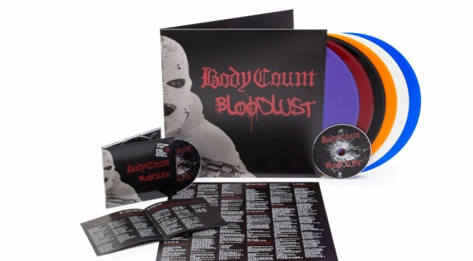 "BODY COUNT release new ""Black Hoodie"" music video / new album ""Bloodlust"" out March 31st"