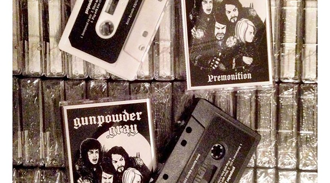 "Gunpowder Gray to release ""Premonition"" on cassette"