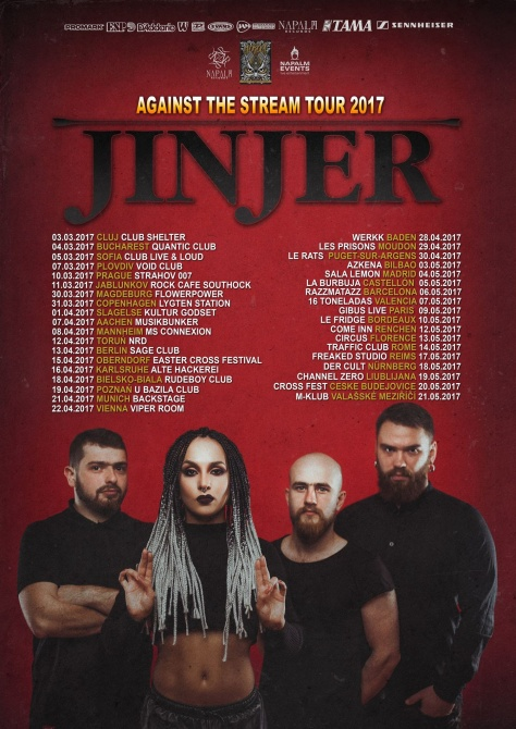 jinjer tour