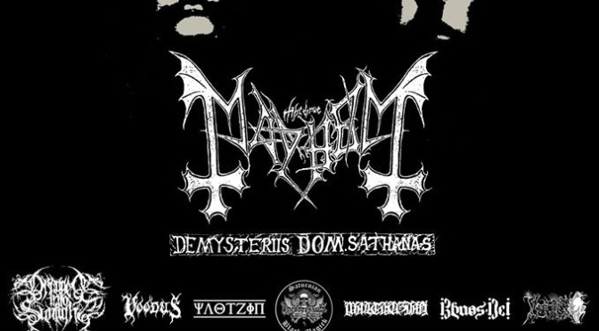 Mayhem Embark On Second Part Of De Mysteriis Dom Sathanas Tour In