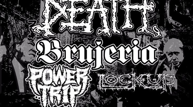 "NAPALM DEATH – ""Campaign For Musical Destruction"" Europe Tour line-up completed; More live shows!"