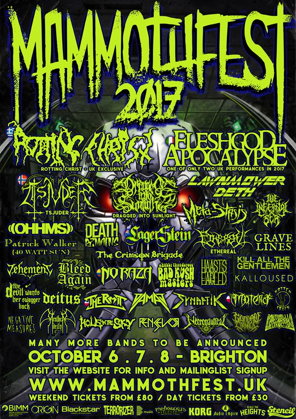 mammothfest poster line-up bleed again
