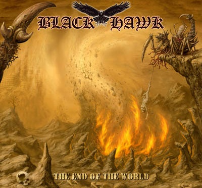 "BLACK HAWK – ""Just Like In Paradise"" – official single from the album ""The End Of The World"""