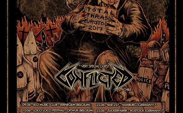NUCLEAR ANNOUNCE EUROPEAN HEADLINING TOUR WITH CONFLICTED