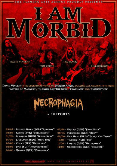Necrophagia announce new dates in Europe