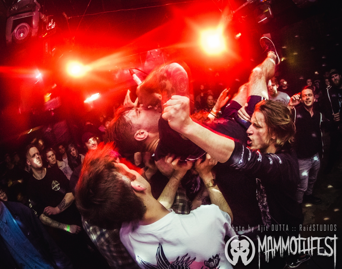 LIVE REVIEW: Mammothfest presents: Brutality Will Prevail, Raging Speedhorn, Bleed Again plus supports - The Arch, Brighton UK - 6th May 2017