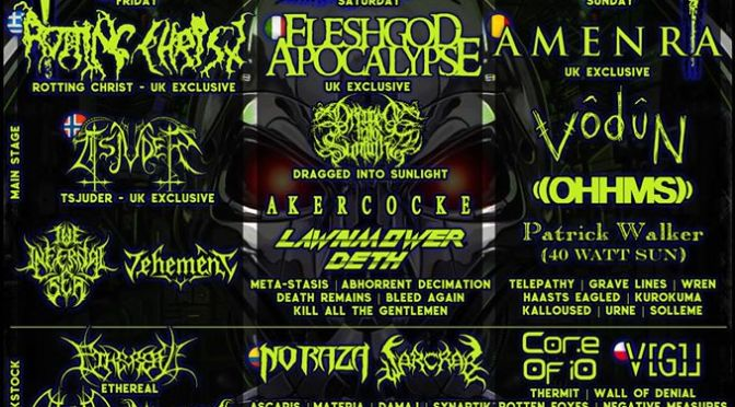 Final Mammothfest UK Announcement Revealed! 3 UK Exclusive headliners!