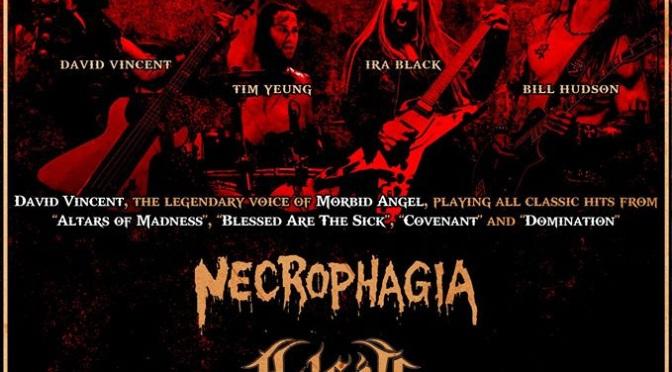 Necrophagia release new  European tour schedule