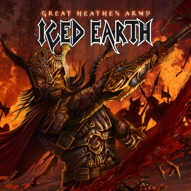 "ICED EARTH new single ""Great Heathen Army"" available now!!!"