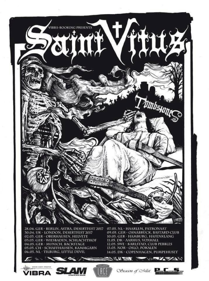 Saint Vitus embark on European headlining tour