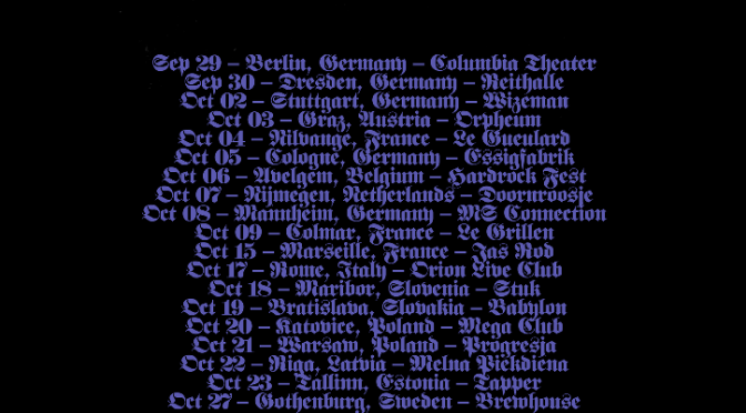 Mayhem  return to Europe with De Mysteriis Dom Sathanas in autumn