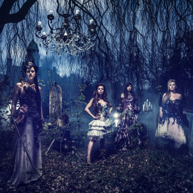 "All-Female Four Piece Band EXIT EDEN Announces Debut Album  ""Rhapsodies in Black""!"
