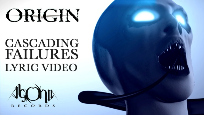 "ORIGIN premiere lyric video for new track ""Cascading Failures"""