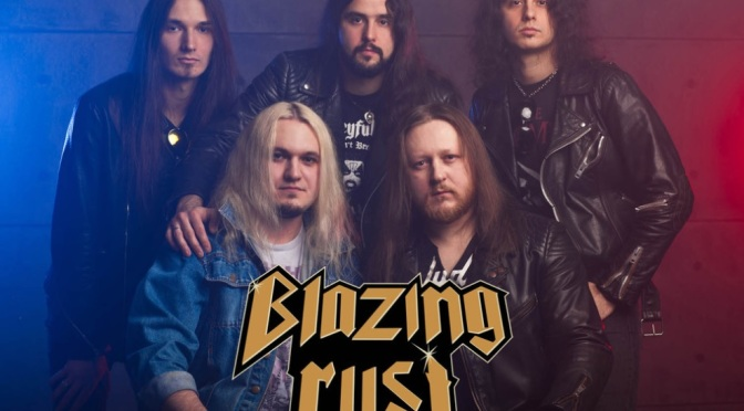 "BLAZING RUST ""Armed To Exist"" – Promotrailer for the upcoming album"