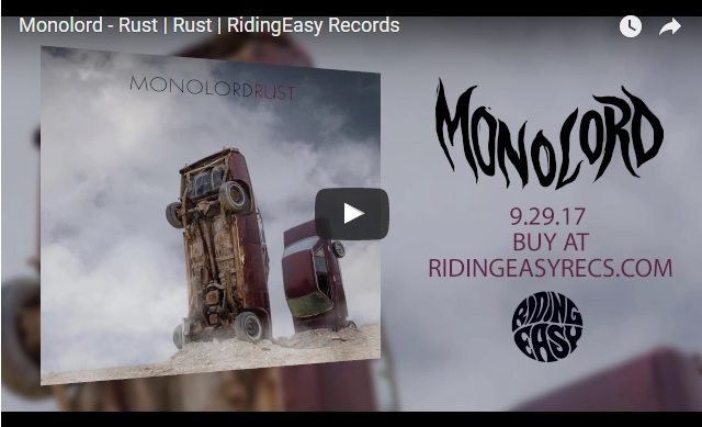 MONOLORD share title track from forthcoming album 'Rust' (RidingEasy Records)