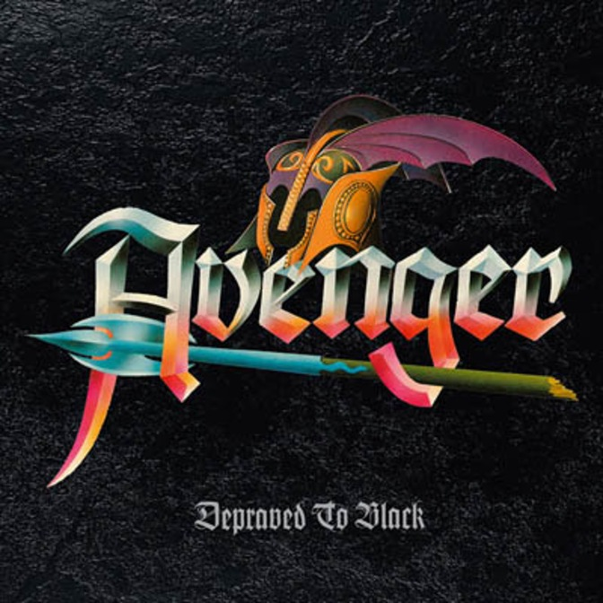 "AVENGER Details ""Depraved To Black"" Limited Vinyl Edition!"