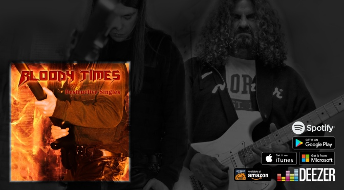 "BLOODY TIMES: Watch the lyric video for the track ""Introduction To War"" (feat. Iced Earth's John Greely)"