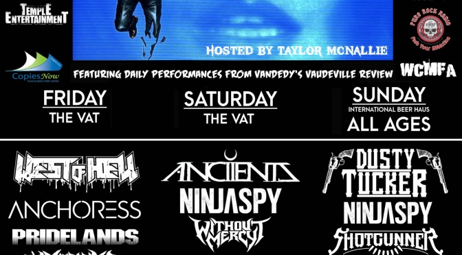 DAYS OF THE DEAD FEST Announce 2017 Line Up w/ ANCIIENTS, NINJASPY, DUSTY TUCKER,WITHOUT MERCY