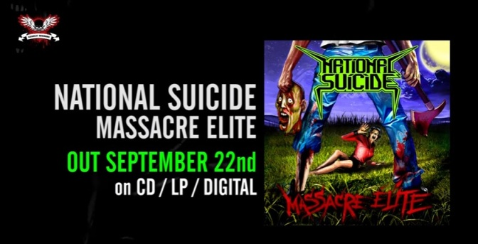 NATIONAL SUICIDE – new single/videoclip 'Take Me To The Dive Bar'