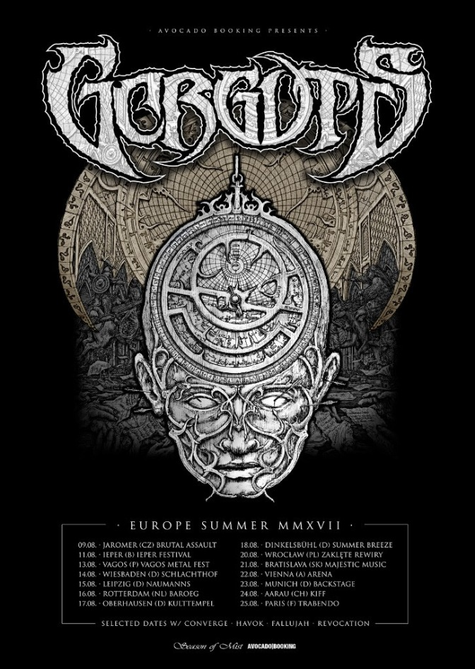 Gorguts  kick off European summer dates
