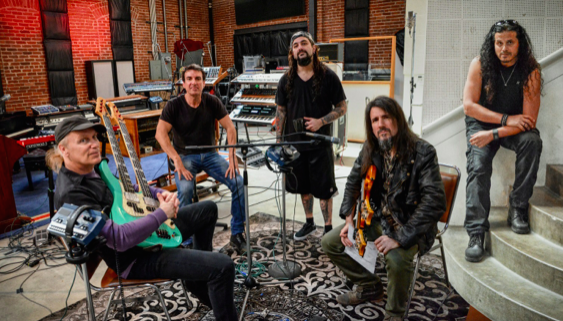 The new supergroup SONS OF APOLLO featuring members of Dream Theater, Mr. Big, Guns 'N Roses, and Journey