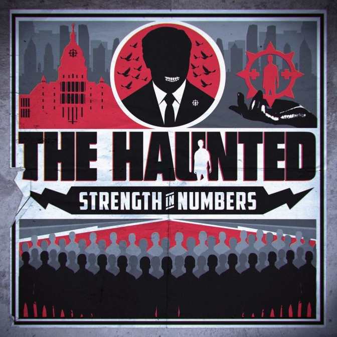 """THE HAUNTED – Debut new single and video for the track """"Preachers Of Death"""" off upcoming album """"Strength In Numbers""""!"""
