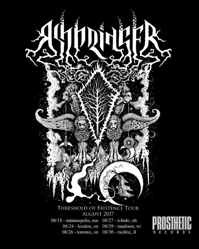 Prosthetic Records Signs Atmospheric Black Metal Band ASHBRINGER