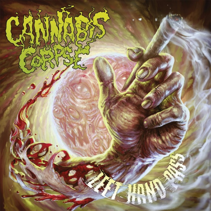 "CANNABIS CORPSE premiere title-track ""Left Hand Pass"""
