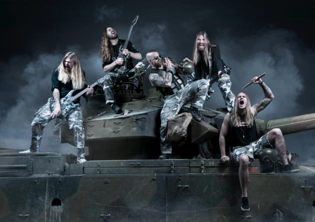 SABATON – release new World of Tanks music video for 'Primo Victoria'