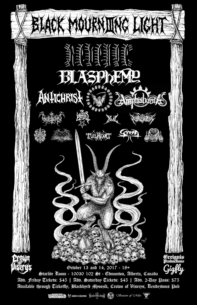 Black & Doom Festival – Black Mourning Light (Edmonton, AB)