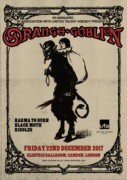 Orange Goblin Announce Details For Their Annual Christmas Show!