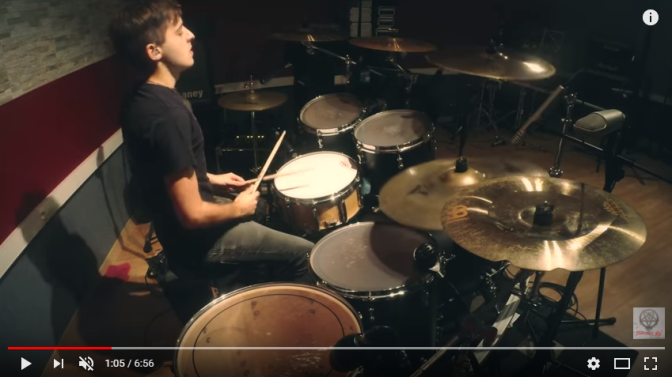Foscor release drum play-through video and update European tour