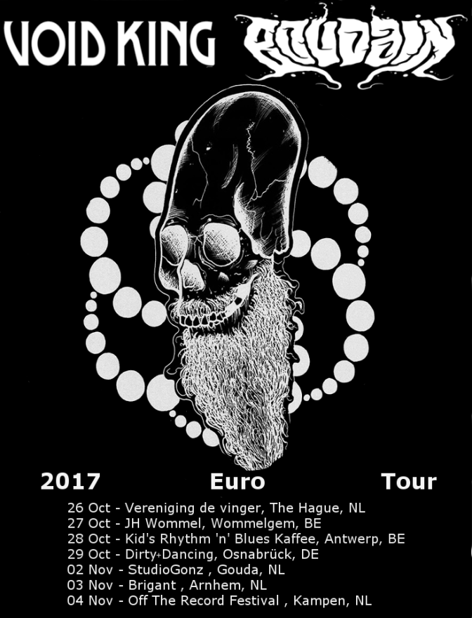 VOID KING / BOUDAIN to Launch European Tour in October