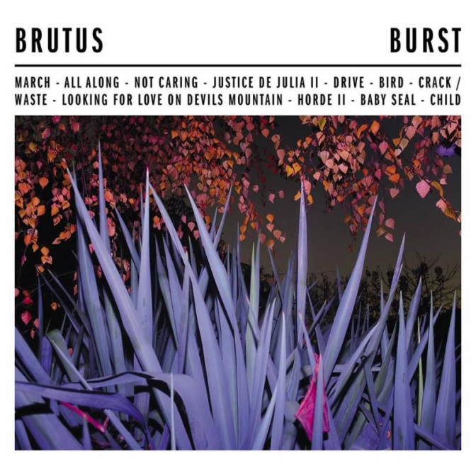 "Belgian trio BRUTUS share video for ""Horde II"" from breakthrough debut album Burst"