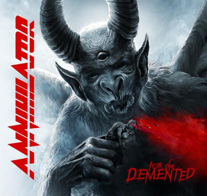 """ANNIHILATOR to Release 16th Studio Album, """"For The Demented"""""""