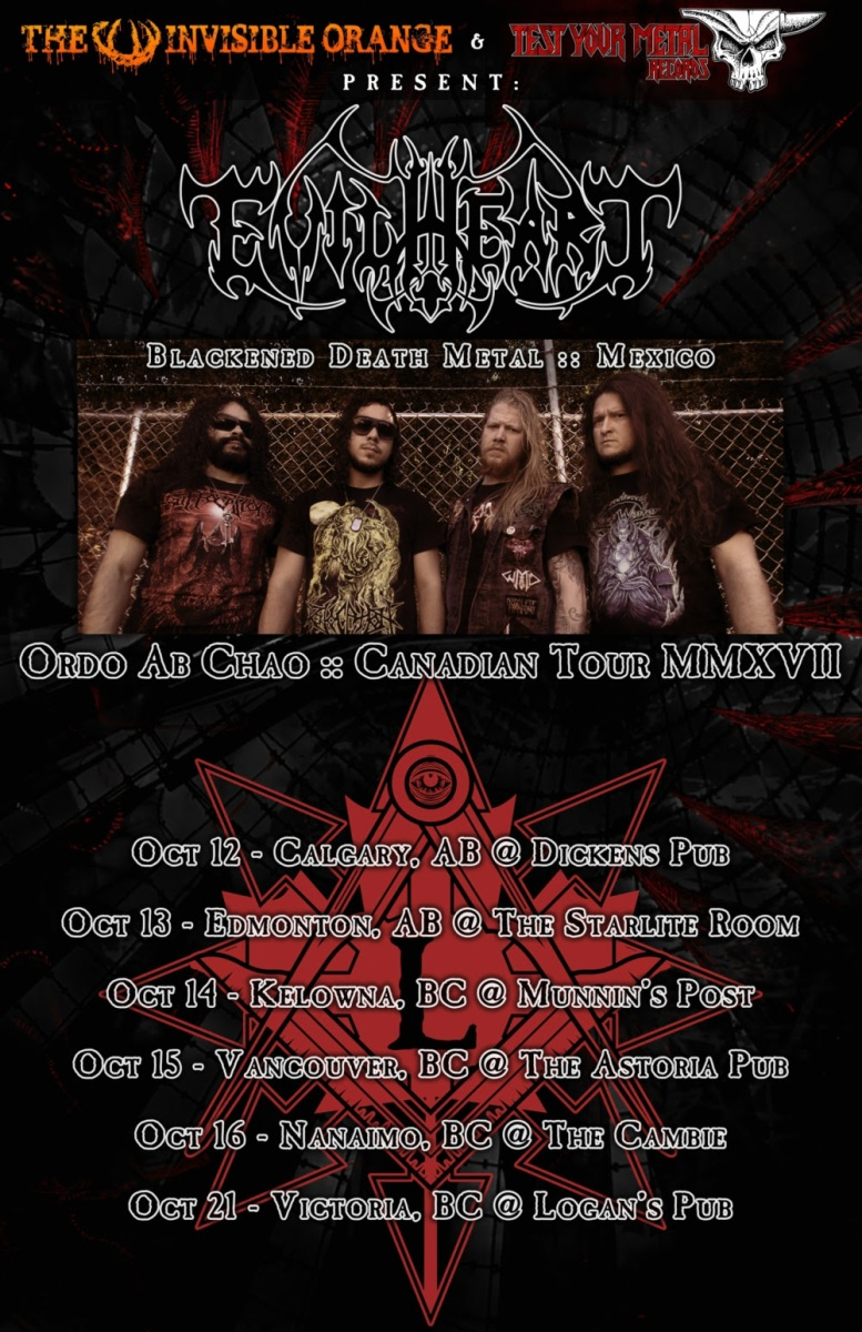 Mexico's EVILHEART Announce Canadian Tour Dates