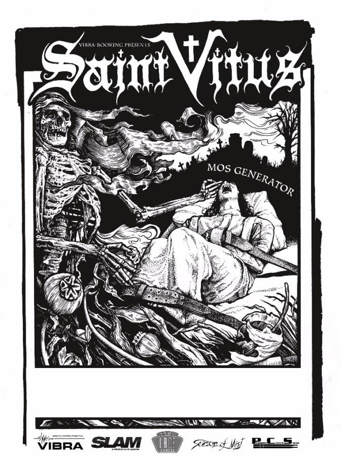 Saint Vitus kick off European tour
