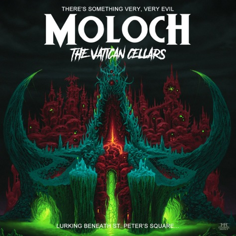 Moloch The Vatican Cellars cover art