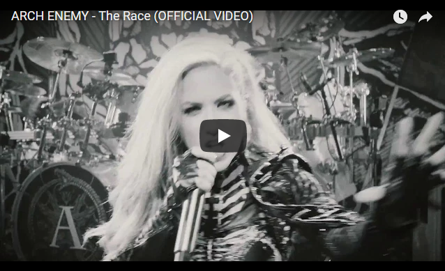 "ARCH ENEMY – debut new music video for single ""The Race"""