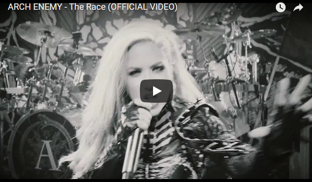 """ARCH ENEMY – debut new music video for single """"The Race"""""""